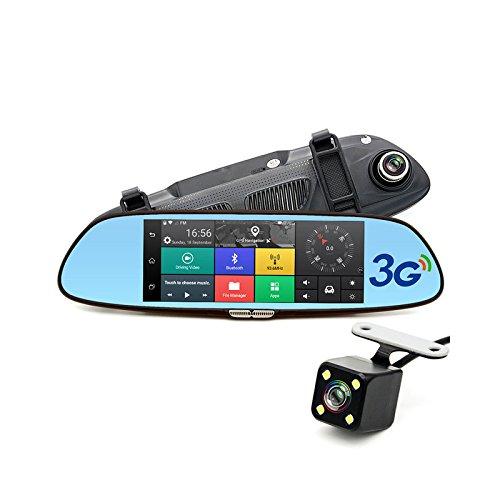 Imagen principal de TOOGOO 7 pulgadas 3G Camara del coche DVR GPS Bluetooth de Lente dual