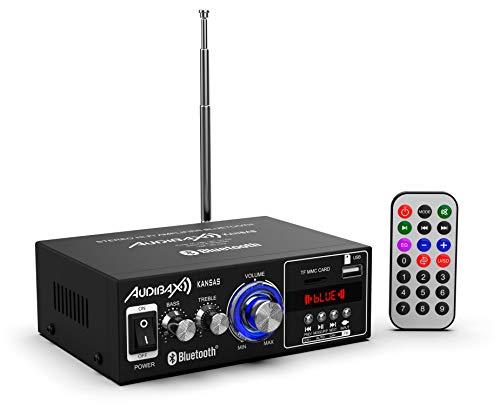 Imagen principal de Audibax KANSAS Amplificador HiFi con Bluetooth / MP3 / FM 2 x 40W (Rea