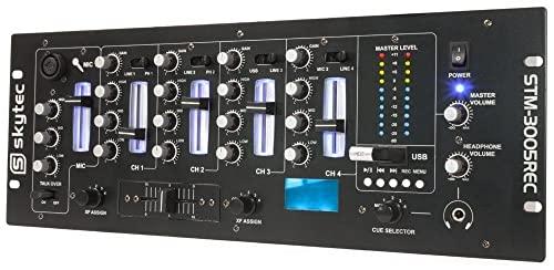 Imagen principal de Skytec STM-3005REC Mezclador de 4 canales EQ MP3 Grabacion