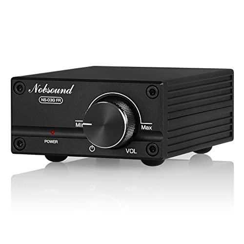 Imagen principal de Nobsound Amplificador de potencia digital de audio (100 W, Full Freque