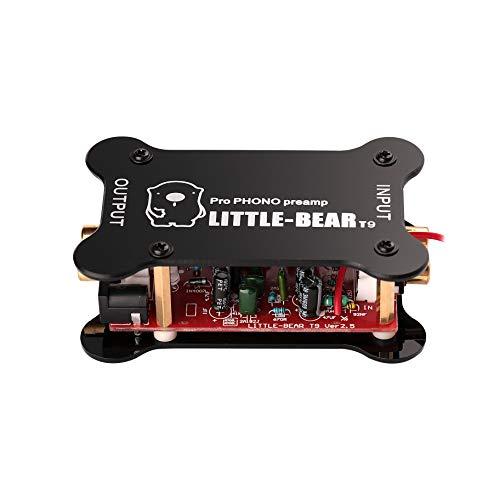 Imagen principal de Mini Phono Preamp RIAA mm Turntable Pre Hi-Fi Amplifier Audio Phono de