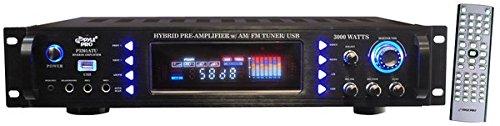 Imagen principal de Pyle P3201ATU - Amplificador de audio (Conector tipo banana/bornes de
