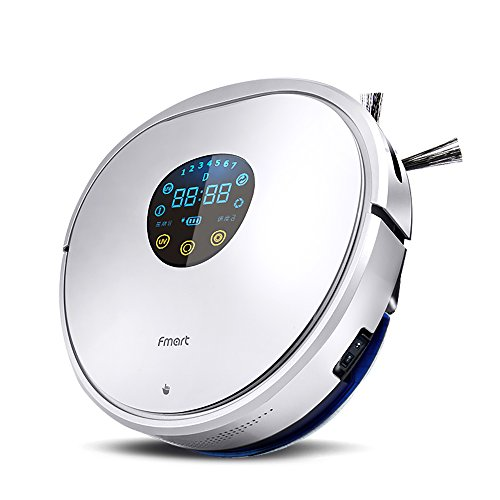 Imagen principal de fmart Automatic Robot Vacuum Cleaner with Strong Suction and Hepa Filt