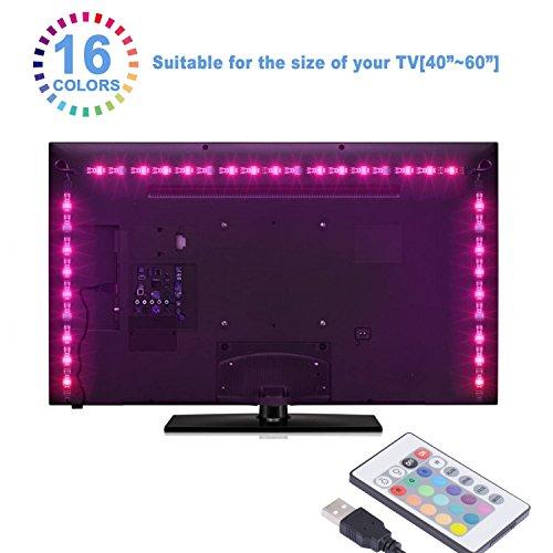 Imagen principal de Sunnest Led TV Tira Led RGB 5050 2Metros Led Para TV Impermeable Energ
