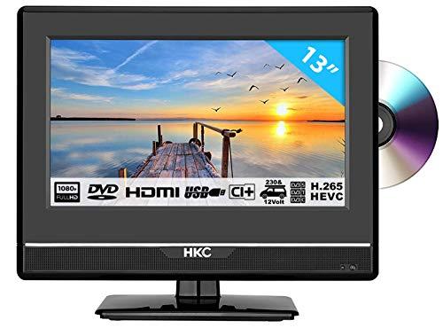 Imagen principal de HKC 13M4C: Televisor LED de 33,8 cm (13 Pulgadas) con Reproductor de D