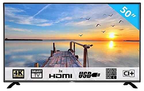 Imagen principal de HKC 50F1 : 127 cm (50 Pulgadas) Smart-TV (4K Ultra HD, TripleTuner, Ci