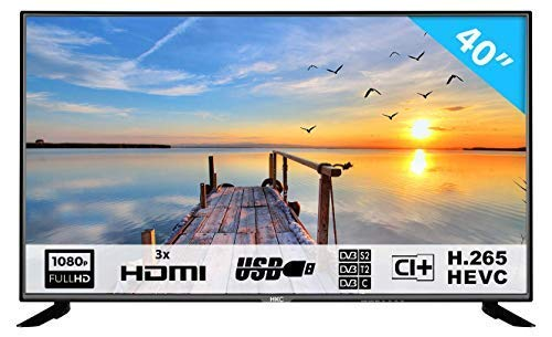 Imagen principal de HKC 40F1N: 102 cm (40 Pulgadas) Televisor LED (Full HD, Triple Tuner,