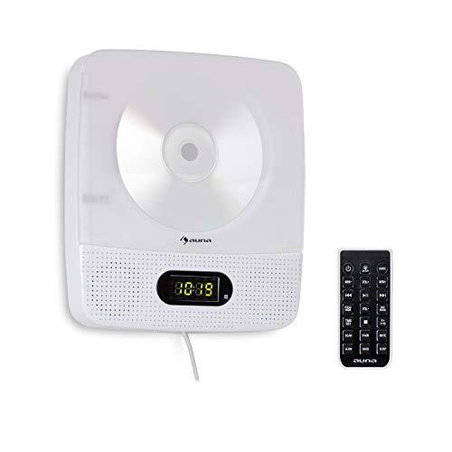 Imagen principal de auna Vertiplay - Reproductor de CD, Bluetooth, Radio FM, USB, Entrada