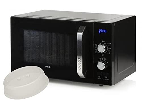 Imagen principal de Microondas con 800 W y 5 niveles de potencia, 23 L, incluye juego de i