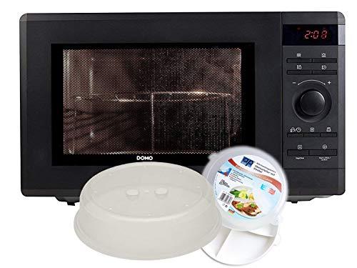 Imagen principal de Microondas con grill de 1000 W, grill de 1100 W, 36 l, incluye 5 pieza