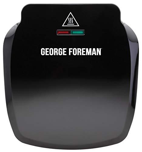 Imagen principal de George Foreman 23400 Compact Deep Tray Parrilla de 2 porciones - Negro