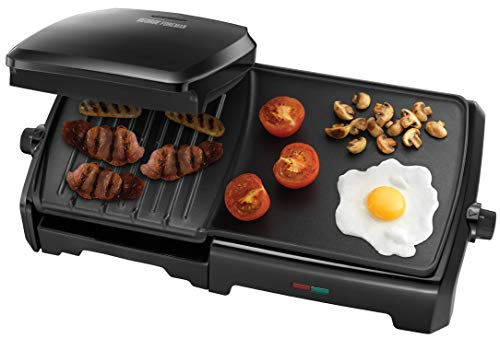 Imagen principal de George Foreman 23450 Black 10 Portion Family Entertaining Grill & Grid