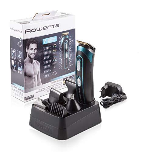 Imagen principal de Rowenta TN9130 Trim & Style - Cortapelos para barba y cuerpo 7 en 1, a