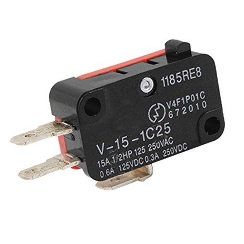 Imagen principal de TOOGOO(R) Mini V-15-1C25 Micro-interruptor del boton de pin SPDT de au