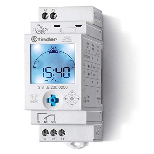 Imagen principal de Finder Astro 128182300000PAS - Interruptor horario diario 1 contacto 1