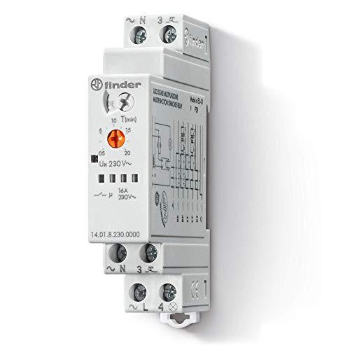 Imagen principal de Finder 140182300000PAS - Automático de escalera multifunción 1 conta