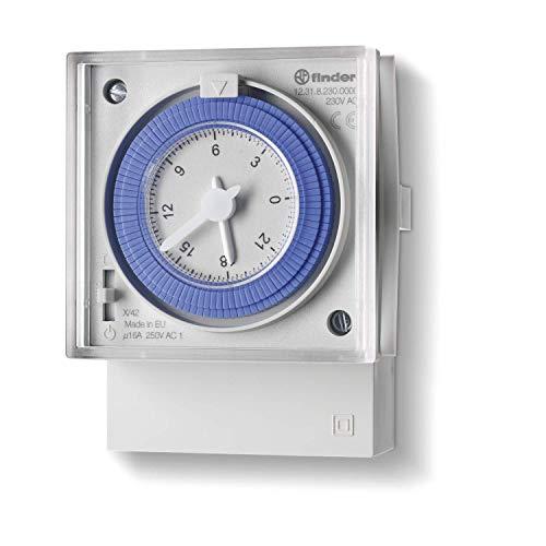Imagen principal de Finder serie 12 - Interruptor horario diario conmutado 16a 24vac