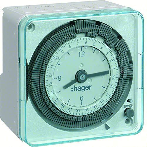 Imagen principal de Hager EH710 - Interruptor horario esfera diaria 220v-50 sin reserva co