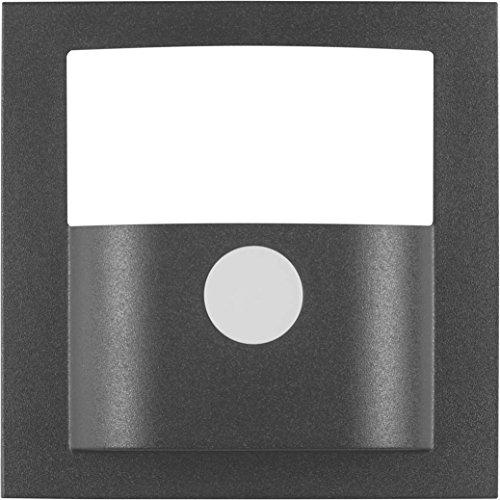 Imagen principal de Hager 11901606 - Tapa detector movimiento, s/b, antracita