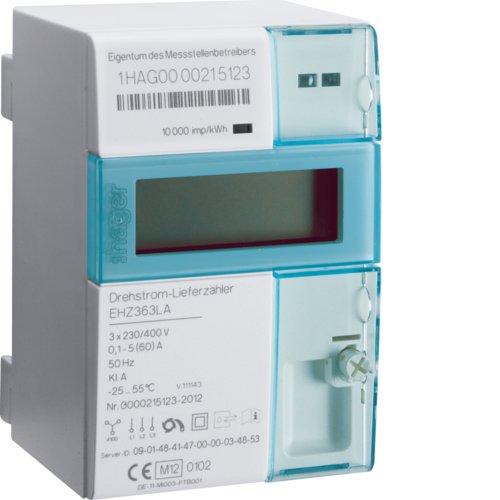 Imagen principal de Hager EHZ363LA Electrónico Complemento Azul, Color blanco temporizado