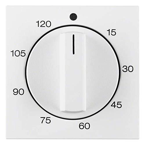 Imagen principal de Hager - Placa central mando temporizador 2041s1/b1/b3/b7 blanco